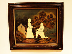 The Three Rings of Marriage: The engagement ring, the wedding ring, the suffering. (Say Llama) Tags: show silhouette gallery papercut wilhelm staehle hibbleton silhouettemasterpiecetheatre