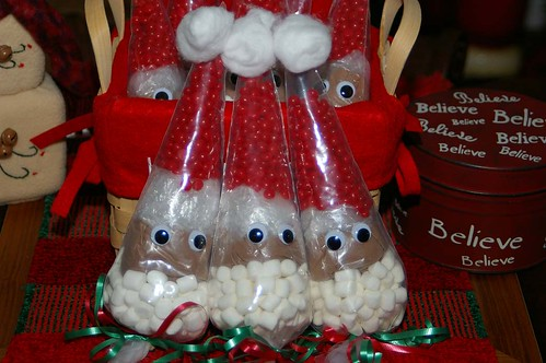 Santa Cocoa Cones!