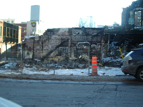 Sun Hing Grocery (destroyed by fire)