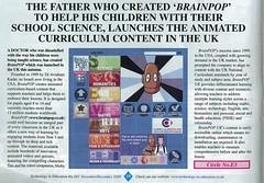Technology in Education - The Father who created BrainPOP