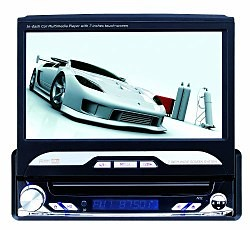 Car DVD Player, 7.0-inch TFT Touch Screen, AM/FM/Analog TV/Bluetooth