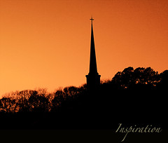 (Tina Lee Studio) Tags: trees sky cross steeple abigfave anawesomeshot theunforgettablepictures