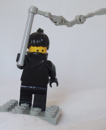 A Ninja custom minifig And Her Unfeasible Weapon