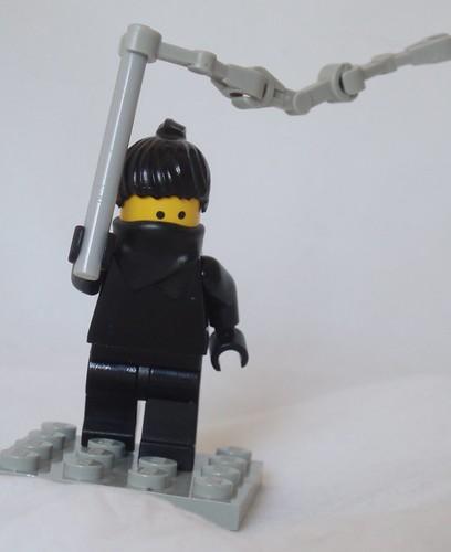 A Ninja custom minifig And Her Unfeasible Weapon