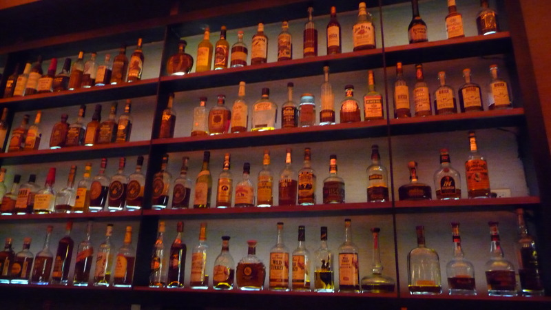 66/299 2009 The whiskey wall at Char No. 4