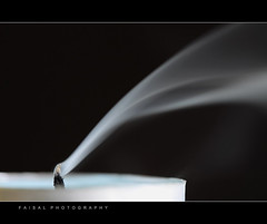 Soul Burn ! (Faisal | Photography) Tags: white black candle smoke explore burn soul canonef100mmf28usmmacro canoneos50d manfrotto190xprob magicotouch canonremoteswitchrs80n3 faisal|photography2oo9 soulburn☆ saudiarabiaalriyadh march72009|1049am