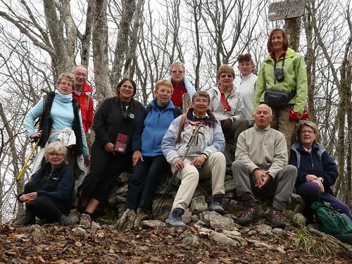 Sortie Vuache avec groupe nature d'Ugine le 2 avril