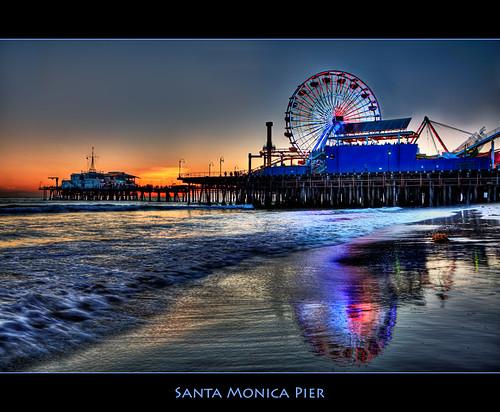 Santa Monica gancio fino bar whakaio e Jenna datazione