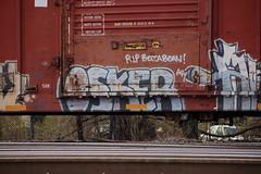 Osker (Short Arm Disorder) Tags: train graffiti streak freight osker moniker