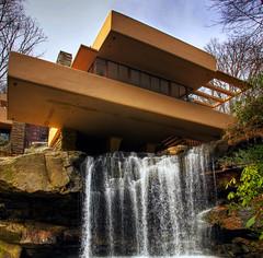 Fallingwater (Karnevil) Tags: usa architecture nikon pittsburgh stitch pennsylvania franklloydwright waterfalls hdr fallingwater d300 fayettecounty bearrun edgarjkaufmannsrresidence stewarttownship