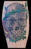 mikesskull Skull tattoo done