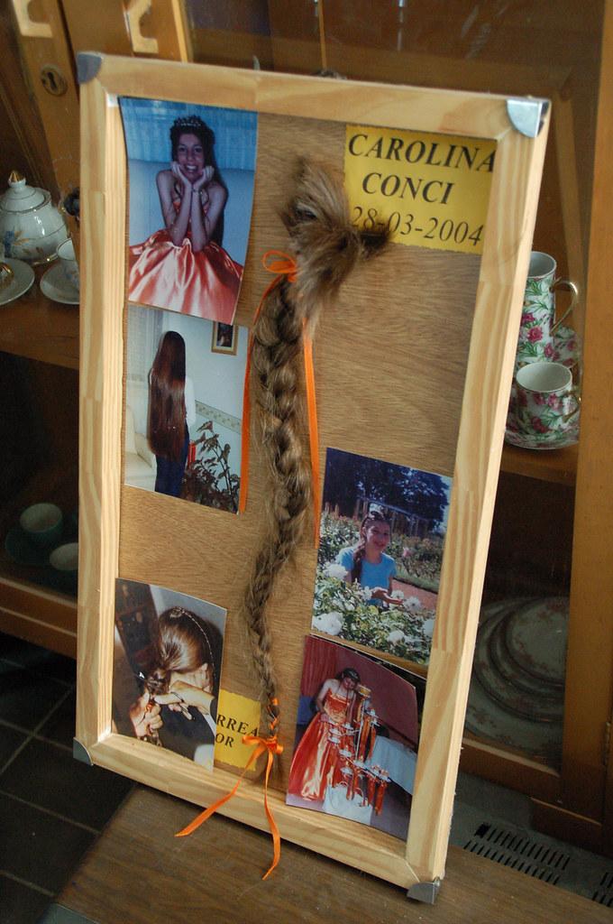 difunta correa: haare als opfergabe/dankesgabe
