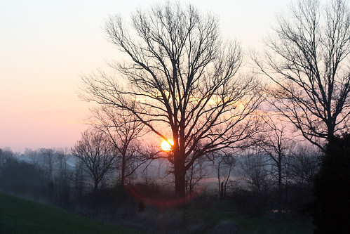 Ohio Sunrise on April 16, 2009