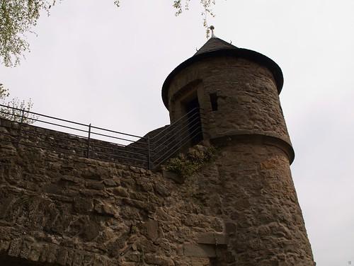 Wehrturm an der Mauer