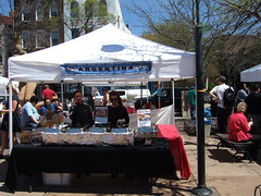 Salvadoran and Argentinian Food Vendors in Adams Morgan, Washington, DC