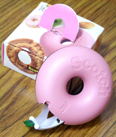 Mister Donut - mending tape