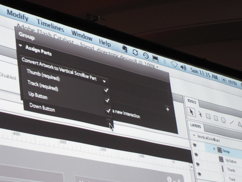 Preview of Adobe Flash Catalyst By Mark Anders