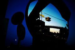 Morning Blue (Noisy Paradise) Tags: street city longexposure morning blue sky urban reflection japan sunrise tokyo sigma explore   foveon   dp1 japanatnight flickrsbest  noisyparadise 1