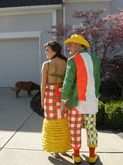 Duck Tape Prom couple