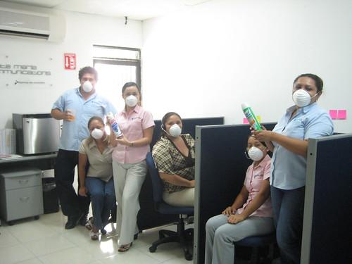 oficinas chicas CubreBocas