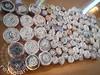Bolas pros colares (Reciclaria) Tags: circle newspaper necklace à recycled handmade bijou boucle accessories jornal recycling colar reciclagem mão círculo quilling acessórios feito reciclado reciclaria
