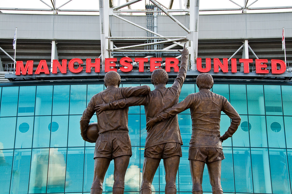 The United Trinity, Old Trafford, Manchester 26/04/2009