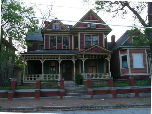 Atlanta GA Grant Park North Historic District Two Story Victorian