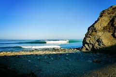 Big Sur (Jonathan Ratcliff) Tags: ocean cliff sunrise lumix surf bigsur panasonic reefbreak surfbreak lx3