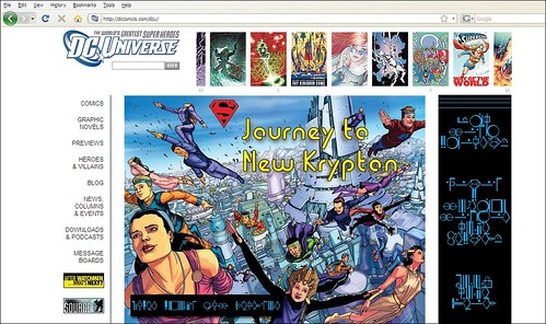 DC Comics Website