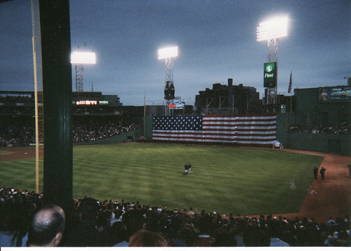 Gary took this picture when he went to the night game by debstromquist.