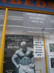 Manorexia? (Nina J. G.) Tags: london leytonstone fitness gym londonist e11 weighlifting sunbeds londonboroughof