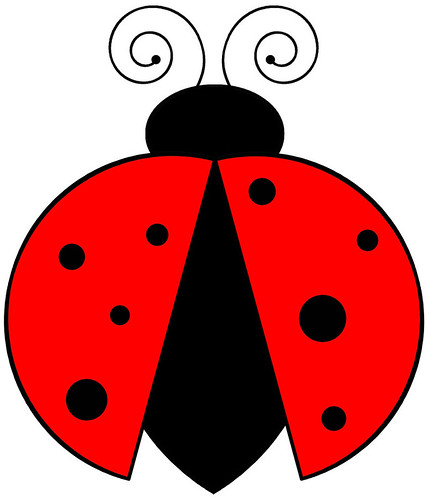 Risco - Joaninha / Pattern - Ladybug