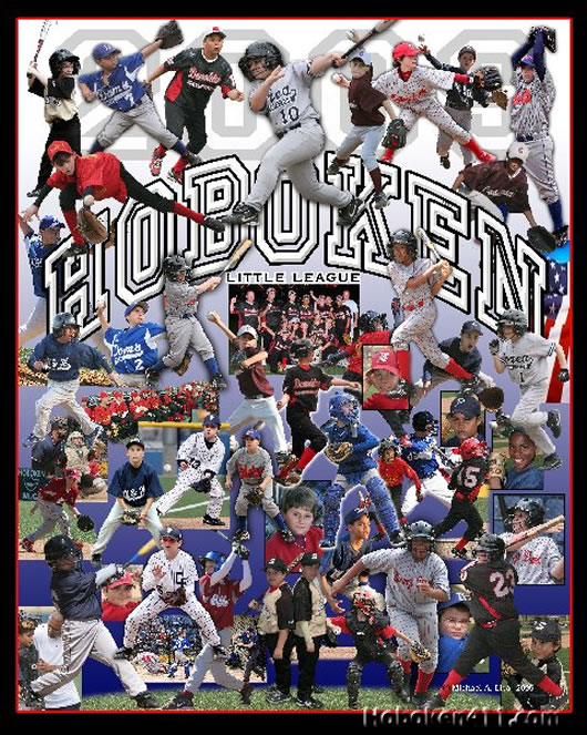 Hoboken Little League Collage