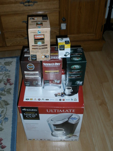 Keurig 02 bonus box contents