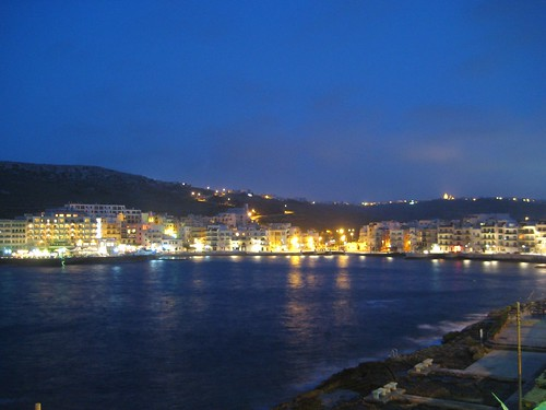 Marsalforn at night