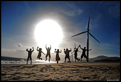 Remember Your Victories (maraculio) Tags: travel sunrise windmills explore inspirational artphotography banguiilocosnorte maraculio falalalameteorgarden rememberyourvictories may062009116