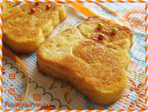 havuçlu portakallı mini kek