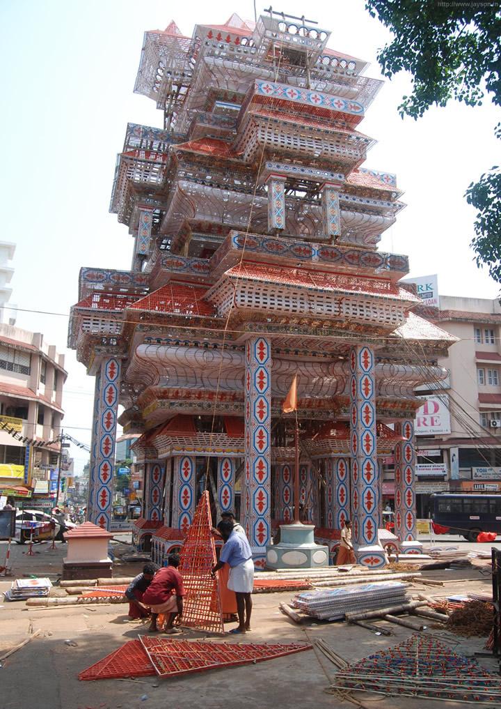 thrissur pooram - Thrissur Pooram Pandal