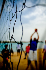 Beach Memories (Khaled A.K) Tags: net beach ball volleyball sa players jeddah saudiarabia khaled ksa saudia jiddah kashkari durratalarus
