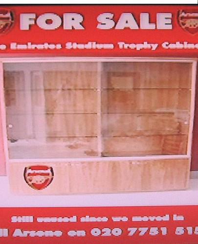 The Arse Trophy Cabinet Has Been Sold To A Chilean Herder For 1 2 Pound Of Goat Cheese