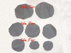 PAP Flor 1 (Ada_Flor) Tags: flores pap floe tecido xadrez acessorios sintetico