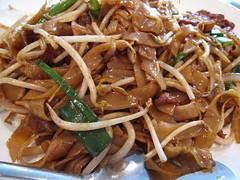 wan lai - beef chow fun up close