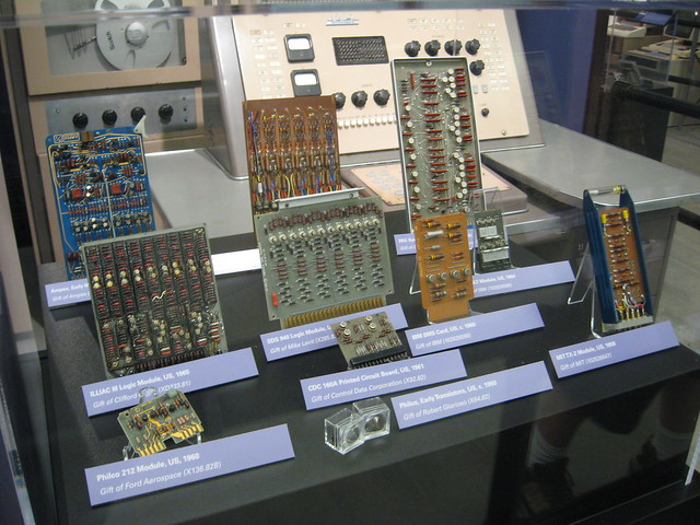 Transistor-based Computer Circuit Boards. Transistor-based Computer Circuit