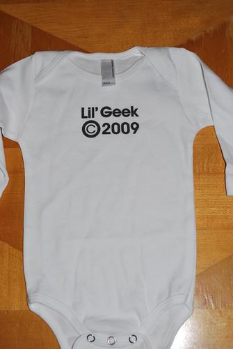 lil geek bodysuit