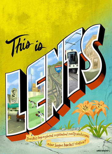 Willamette Weekly cover: This is Lents