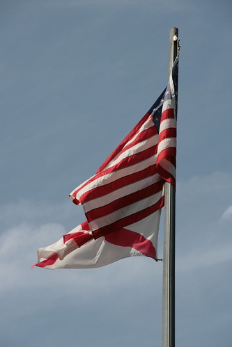 picture of alabama flag. but the Alabama-flag was