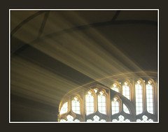 Pentecost Light (Lawrence OP) Tags: light sunlight church window dominican oxford blackfriars rays priory pentecost