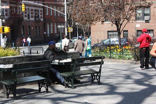 Chess in Washington Square Park