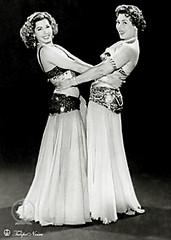 Samia Gamal & Tahia Carioca In 1958  (A)