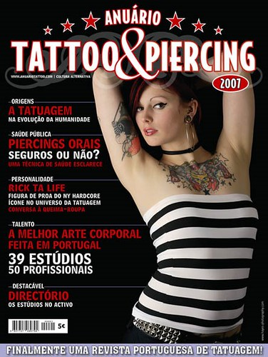 tattoos and piercing. Tattoo e Piercing 2007 é a